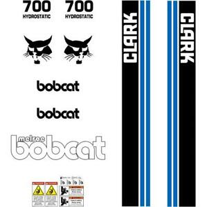 Bobcat M-700 Decals Stickers Repro Skid Steer LOADER DECAL SET