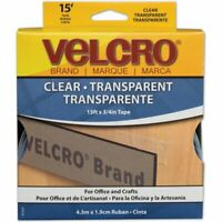 """Velcro Sticky Back Hook And Loop Tape - 0.75"""" Width X 15 Ft Length - 1 / Roll -"""