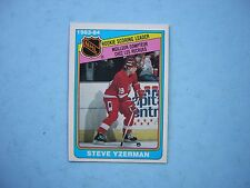 1984/85 O-PEE-CHEE NHL HOCKEY CARD #385 STEVE YZERMAN ROOKIE RB NM SHARP!! OPC