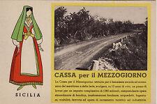 # CASTELVETRANO-PARTANNA: SISTEMAZIONE DELLA PROVINCIALE -CASSA DEL MEZZOGIORNO