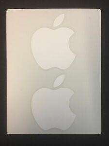 Apple Sticker Decal (1 sheet, 2 per sheet)