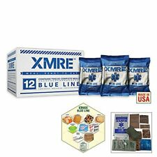 XMRE BLUE LINE - 12 Case / NO Heaters( MRE Meal Ready to Eat)