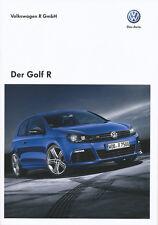 1 VW Golf R Prospekt 2010 10/10 D brochure Katalog broschyr catalogus broszura