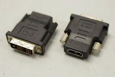 Lot of 5 DVI-D Male to HDMI Female Adapter Converter