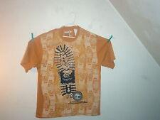 Timberland t-shirt short sleeve mustard giant boot size 3XL/3TG  new BIG SHIRT