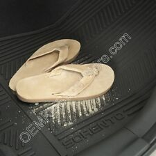 OEM 2015 2014 Kia Sorento ALL WEATHER RUBBER FLOOR MATS SLUSH MATS # 1UF13 AC800