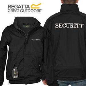 Security Regatta Dover Jacket Fleece Inner Embroidered Coat Doorman/ Bouncer New