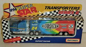 Jeff Gordon #24 Dupont 1994 1/87 Matchbox Super Star Series II 1 of 25,000 Team