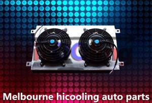 Aluminum shroud + fans for Mazda RX7 Series 1 2 3 S1 S2 S3 SA/FB 1979-1985