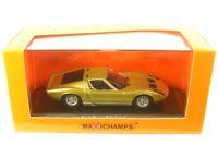 Lamborghini Miura (gold color) 1966