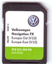 VOLKSWAGEN VW V10 2018 RNS310 MAP SKODA AMUNDSEN SEAT WEST EUROPA 3C8 051 884 DB