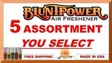 Blunt Power Spray Bluntpower Air Freshener Spray Assotred Scent 5 Count