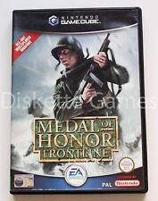 MEDAL OF HONOR FRONTLINE - GAMECUBE GC GAME CUBE - PAL - FRONT LINE