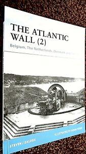 OSPREY FORTRESS #89: THE ATLANTIC WALL (2) BELGIUM NETHERLANDS DENMARK NORWAY