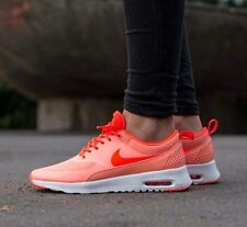 Femme Nike Air Max Thea Taille UK 4.5 EUR 38 Atomic Pink-Total Crimson Entièrement neuf dans sa boîte
