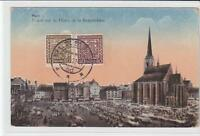 AK Plzen, Pilsen, Namesti republiky, Marktplatz, 1932