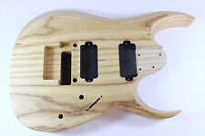 Unfinished 7 string ash RGD body Fits Ibanez (tm) RG and Jem necks P129