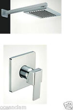 Bathroom Concealed MIXER Valve square top shower for shower enclosure or bath