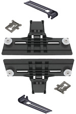 W10350375,W10195840,W10195839 Rack Adjuster Kenmore Whirlpool Kitchen Aid -2Pack