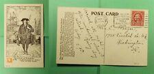 DR WHO 1926 PHILADELPHIA PA EXPO SLOGAN CANCEL POSTCARD TO WASHINGTON DC f52375