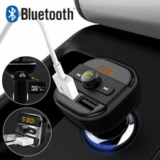 Portable Wireless Bluetooth Car Kit FM Transmitter USB Charger Audio MP3 Player