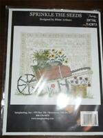 IMAGINATING Counted Cross Stitch Kit - SPRINKLE THE SEEDS
