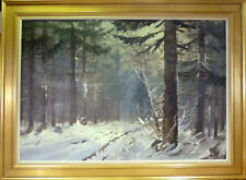 EVELYN THORBJORN! WINTER SCENERY FROM ROLD SKOV - DK ON A SUNNY DAY. NO RESERVE