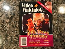 Video Watchdog 46! The Evil Dead Trilogy/Zombie/Godzilla