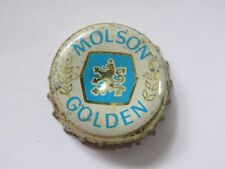 Old BEER Bottle Cap ~^~ MOLSON Brewery Canadian Golden ~*~ Add'l Caps $0.25 S&H