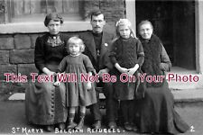 CH 910 - St Marys Belgian Refugees, Hyde, Cheshire c1914 - 6x4 Photo
