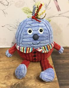 "Jellykitten Jellycat Maypole Humpty Dumpty Soft Plush Toy 10"" with Chime Rattle"