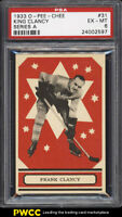 1933 O-Pee-Chee Series A King Clancy RED #31 PSA 6 EXMT (PWCC)