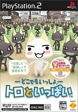 Used PS2 Doko Demo Issyo: Toro to Ippai Japan Import (Free Shipping)