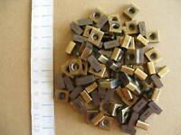 Wendeschneidplatten Hartmetall-Schrott VHM ca. 740 gr. WALTER, 90 Platten, neu
