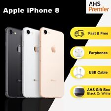 Apple iPhone8 Gold 64G Excellent/Grade A+ Unlock SIM-Free IOS Smartphone Gift