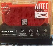 Altec Lansing Mini H20 Rugged Bluetooth Speaker Waterproof