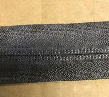 "YKK® CI 5/8"" Coil Zipper Chain Tape  #5 Medium Gray 10 Cont. yards USA (B12)"