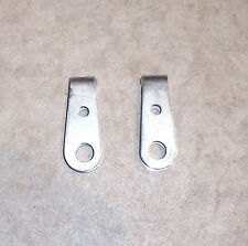 70s VINTAGE LATE-ERA KTM 90mm CHAIN ADJUSTERS w/BARREL FITTINGS, EX/RESTO (E414)