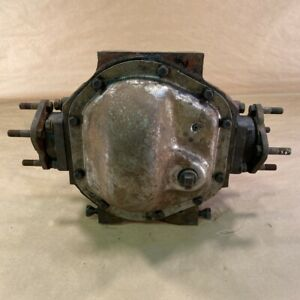 Original Jaguar XKE E-Type S1 Rear Differential Pumpkin 4HA 46x13 3.54 Ratio OEM