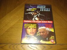 Hired To Kill / Nightmare At Noon (DVD, 2002)