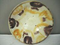 Antike Keramikschüßel Laufglasur