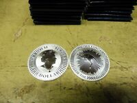Australien , 2020 , 1 $ , 1 Unze Silber , Känguru PERTH MINT