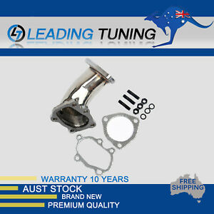 Exhaust Turbo Elbow Pipe Fit For Nissan S13 180SX CA18DET Stainless Steel 88-94