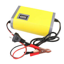 Motorcycle Car Auto 12V 6A Battery Charger Intelligent Charging Machine EU plug