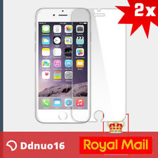 100% GENUINE TEMPERED GLASS FILM SCREEN PROTECTOR FOR APPLE IPHONE 6S & 6 - NEW