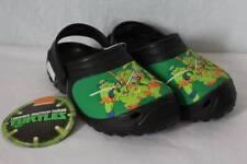 NEW Boys TMNT Large 2 - 3 Clogs Ninja Turtles Water Shoes Sandals Slip On Pool