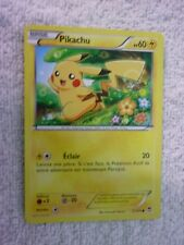 Carte pokémon pikachu 27/111 commune XY3 Poings Furieux