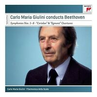 CARLO MARIA GIULINI - CARLO MARIA GIULINI CONDUCTS BEETHOVEN 5 CD NEW+ BEETHOVEN