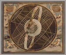 Russel brennan: Celestial I Imagen TERMINADA 50x60 Mural Planetas Universo Carta