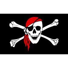 Drapeau pirate - TETE de Mort - Pirate Flag -Corsaire -145 cm X 90 cm